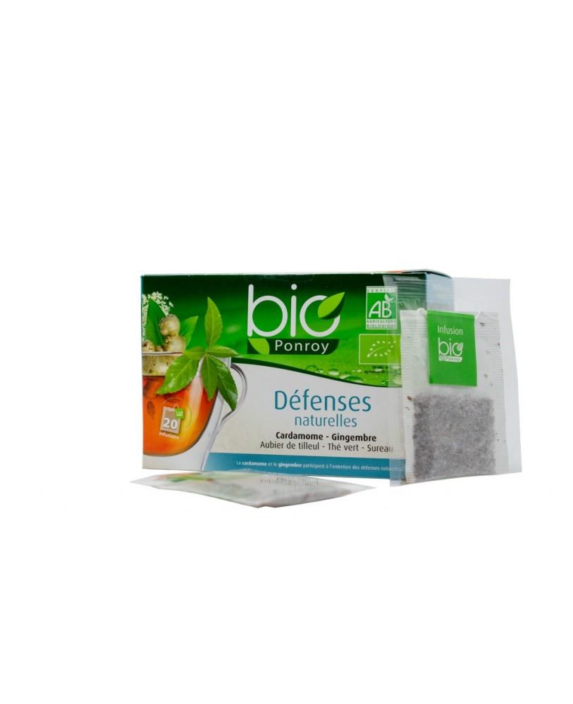 Ekologiška arbata Bio Ponroy Infusion defenses naturales (natūraliai apsaugai – vertimas iš prancūzų kalbos)