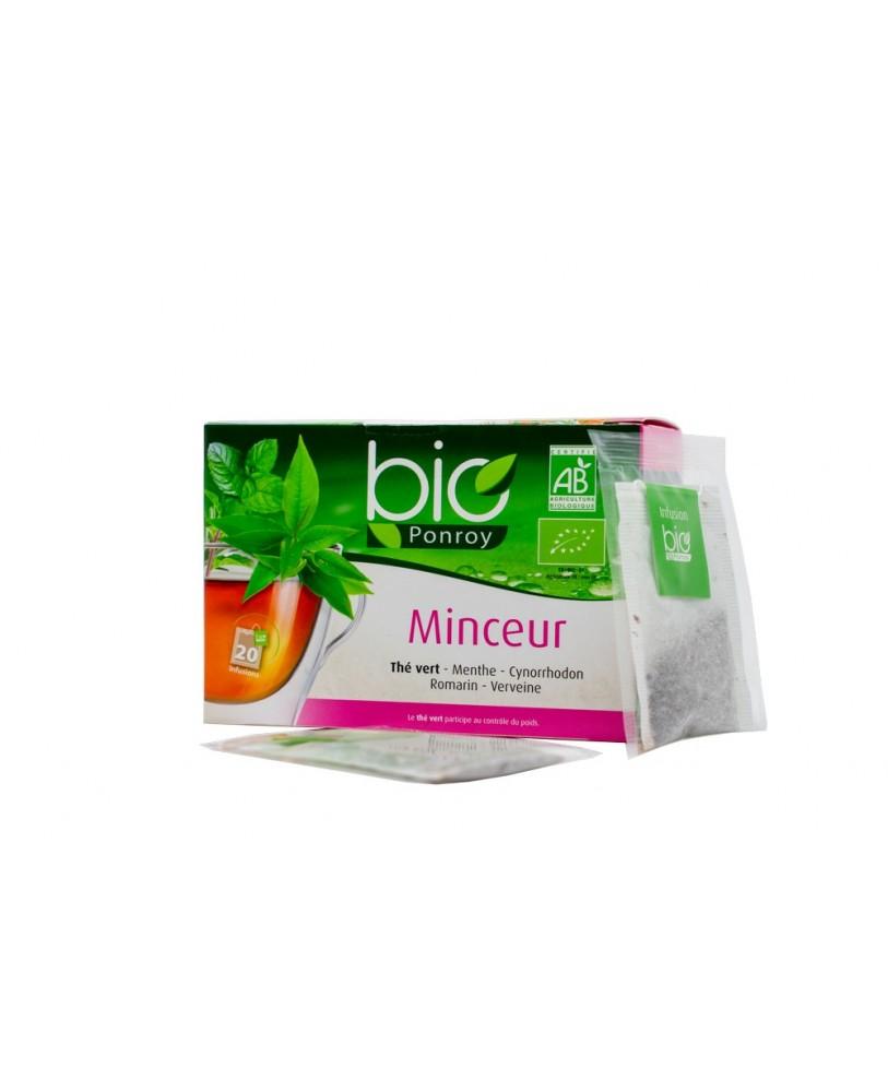 Ekologiška arbata Bio Ponroy  Minceur (lieknėjimui – vertimas iš prancūzų kalbos)