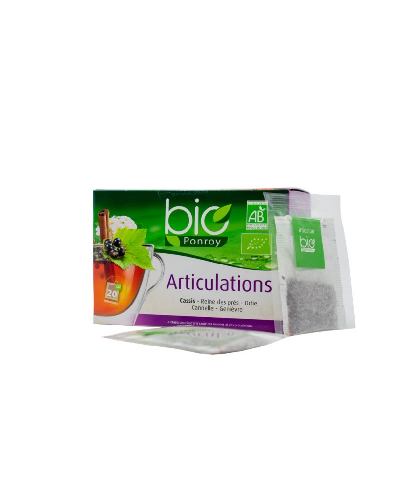 Ekologiška arbata Articulations (sąnariams – vertimas iš prancūzų kalbos)