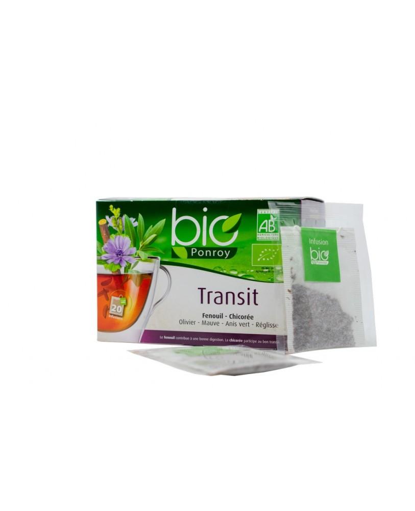 Ekologiška arbata Infusion Transit  (žarnyno funkcijai – vertimas iš prancūzų kalbos)