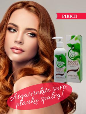 Dažantys šampūnai Color Boost