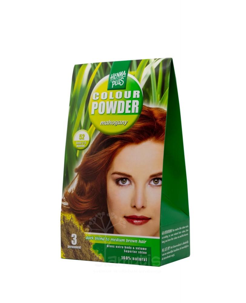 Hennaplus dažanti pudra Colour Powder spalva raudonmedžio