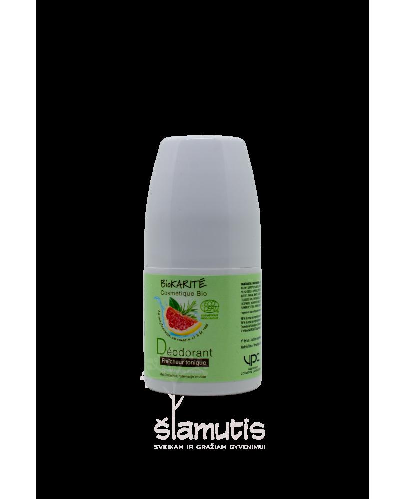 Dezodorantas be aliuminio junginių ekologiškas BioKarite