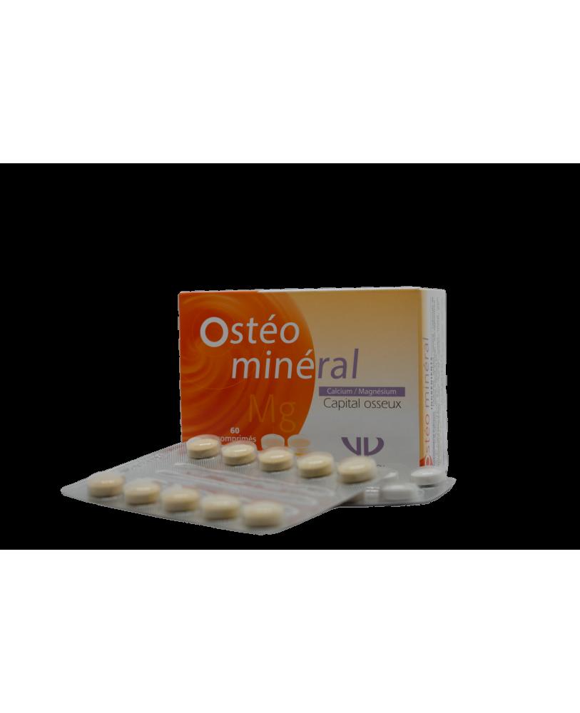 Osteomineral Ca  Mg normaliai kaulų dantų būklei