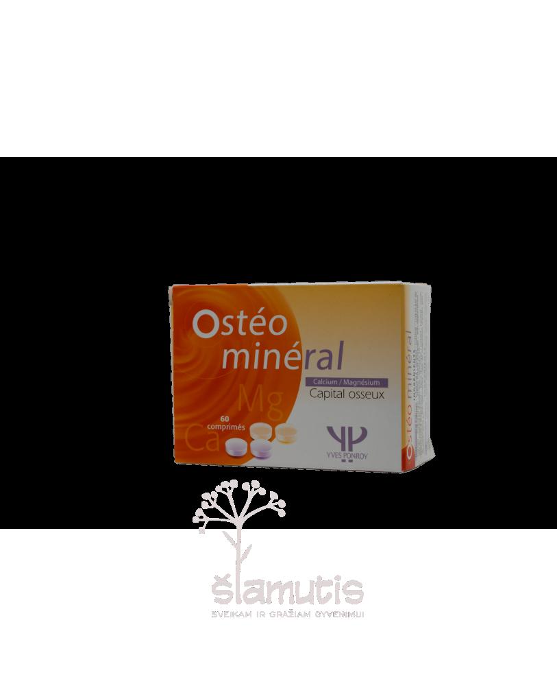 YVES PONROY Osteomineral Ca + Mg , maisto papildas