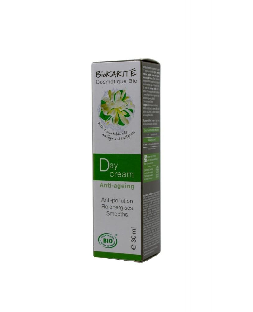 BioKARITE Cosmetique Bio Dieninis kremas ekologiškas  ATNAUJINTOS SUDĖTIES