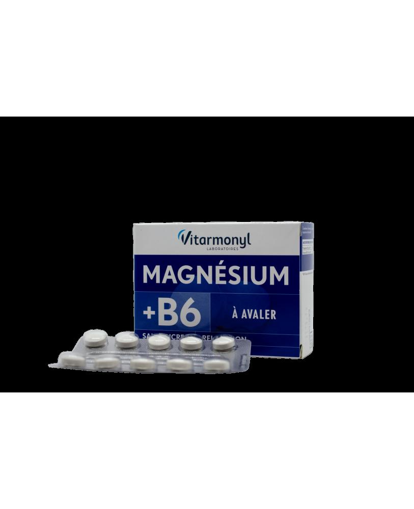 YVES PONROY Magnis + vitaminas B6, maisto papildas
