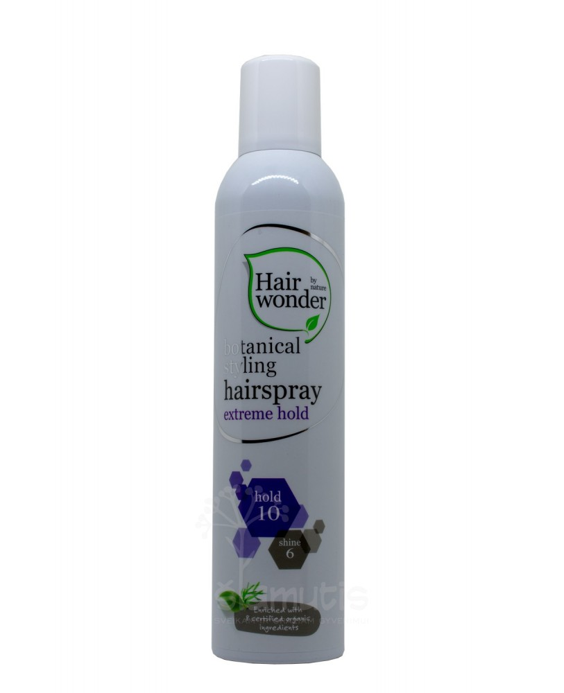 Lakas plaukams Hairwonder stiprios fiksacijos 300 ml