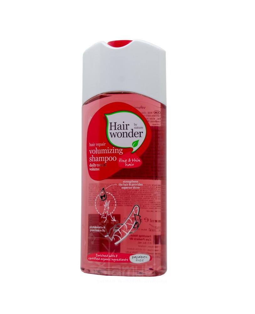 Šampūnas plaukų apimčiai Hairwonder Volumizer 200 ml
