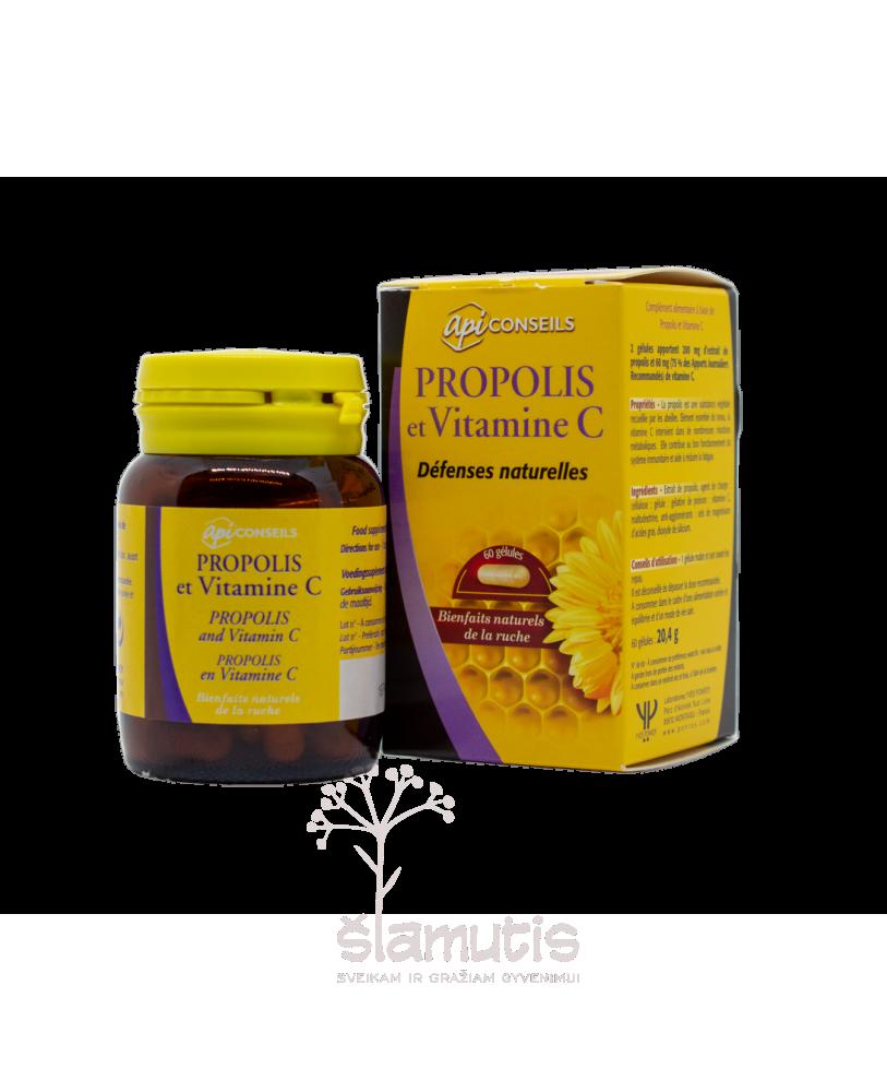 Propolis ir vitaminas C