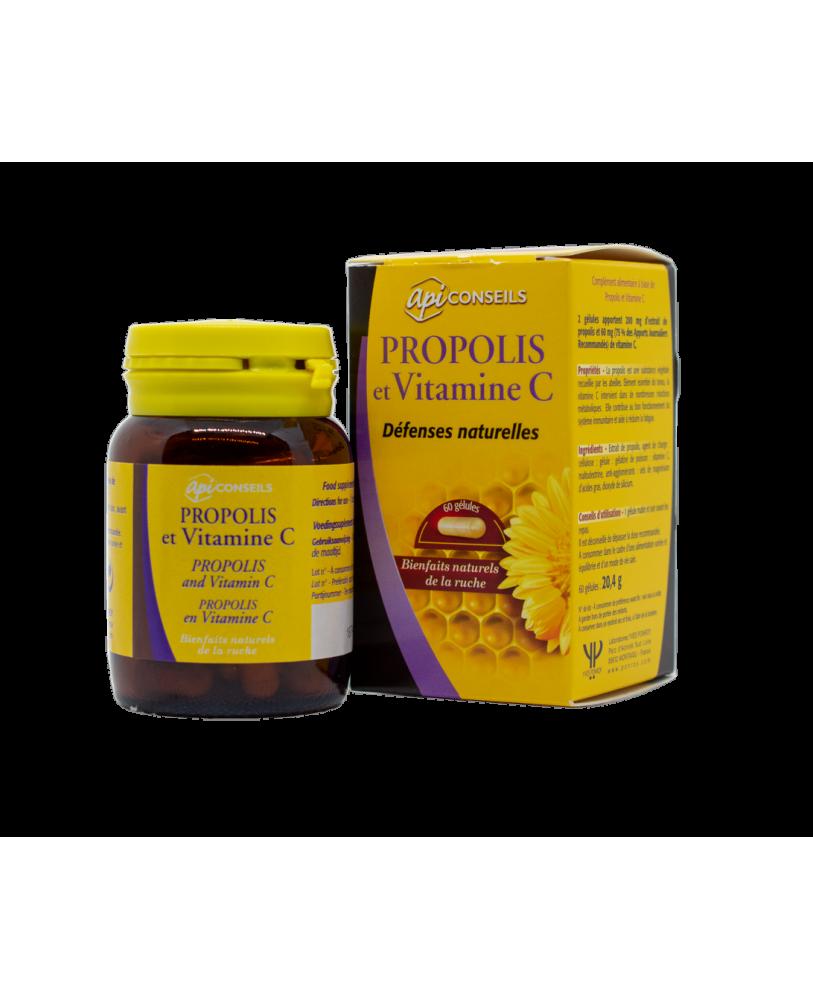 YVES PONROY Propolis ir vitaminas C, maisto papildas