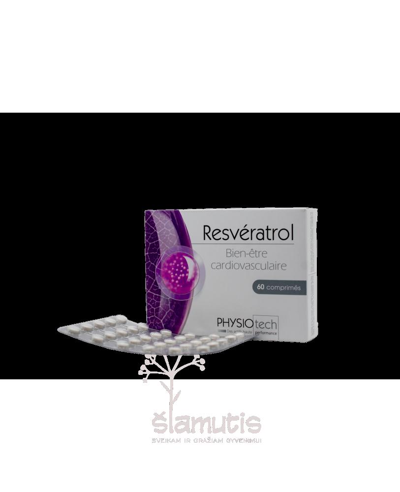 YVES PONROY Resveratrolis, maisto papildas