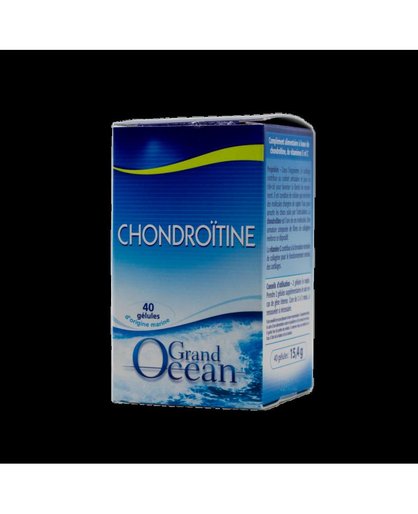 YVES PONROY Chondroitino kapsulės su  vitaminais E ir C, maisto papildas