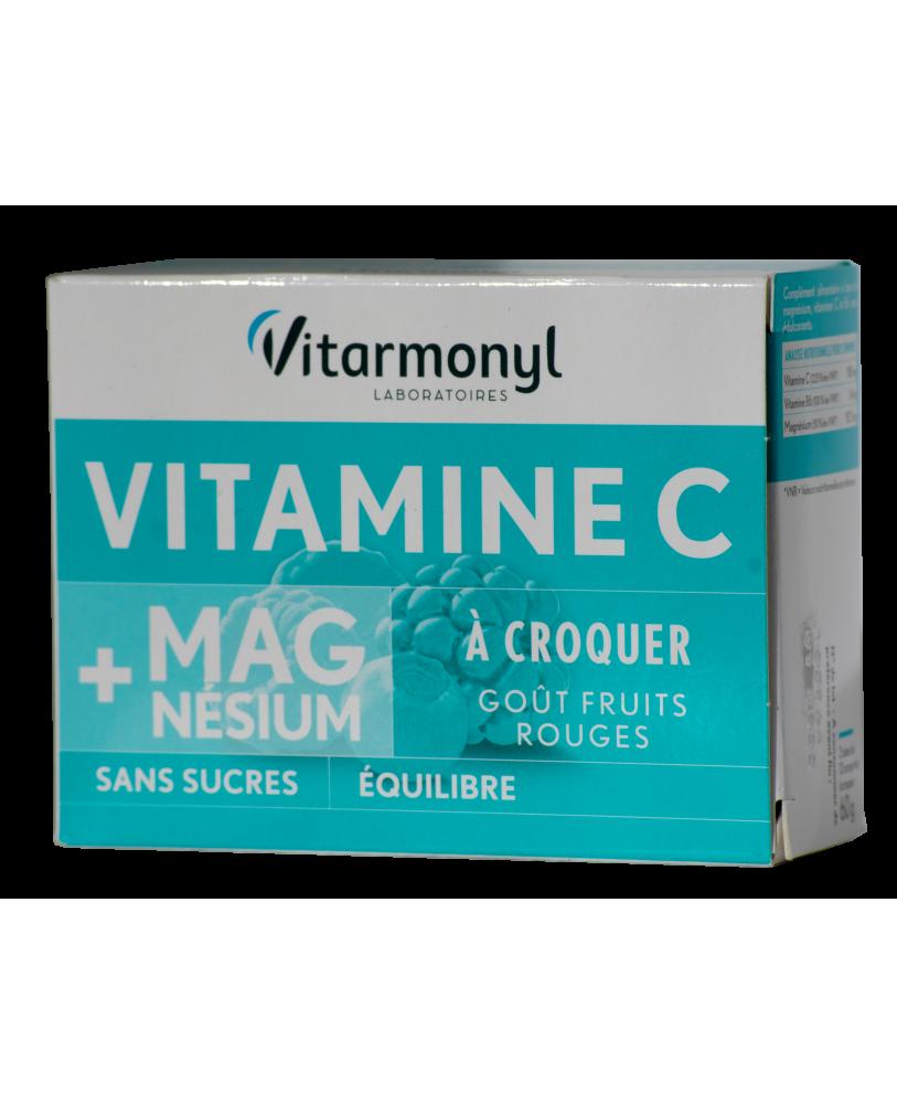 YVES PONROY Vitaminai C, B6 ir magnis, maisto papildas