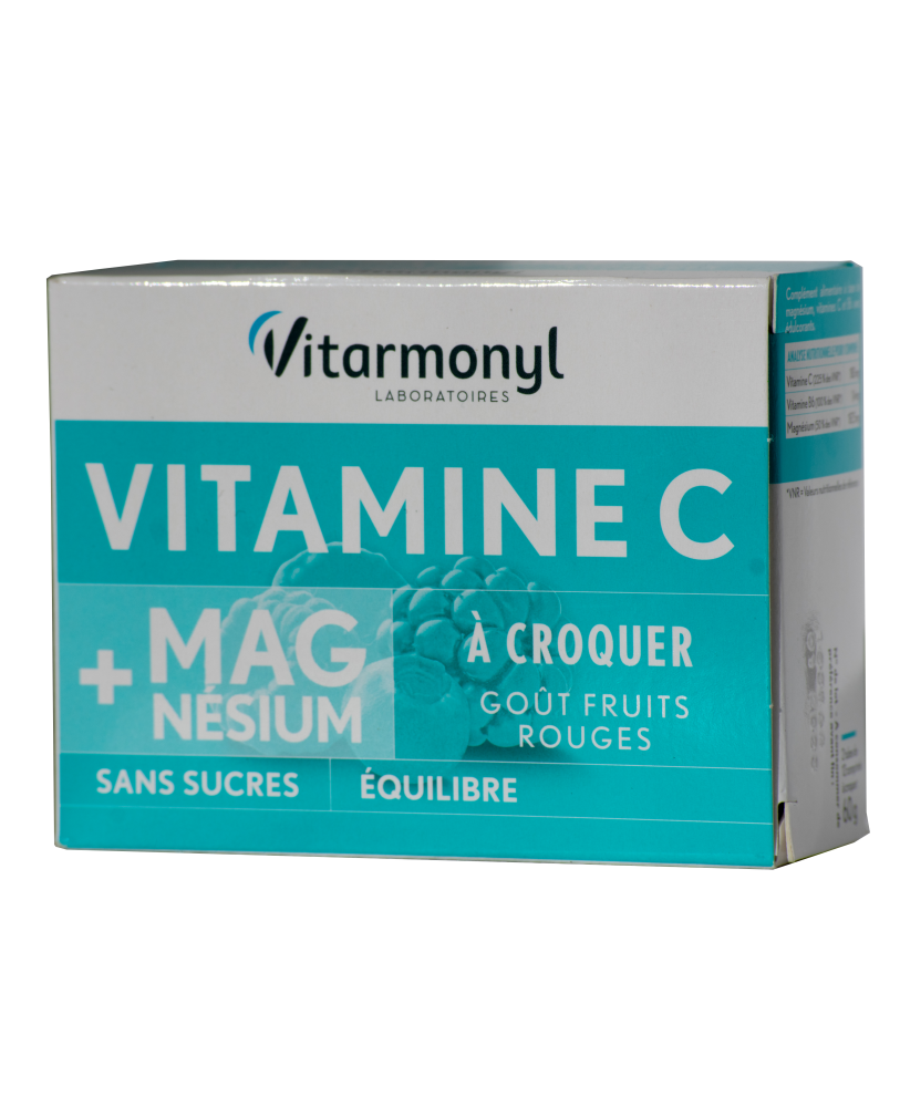 Vitaminai C, B6 ir magnis