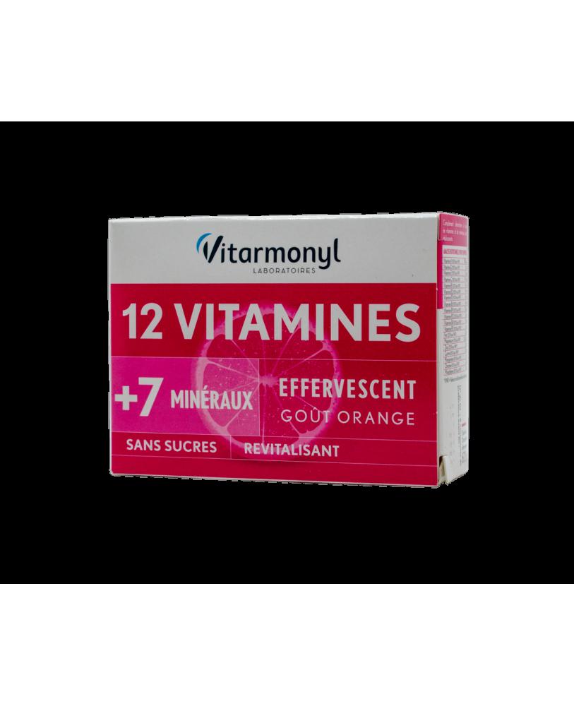 YVES PONROY 12 vitaminų + 7 mikroelementai, maisto papildas