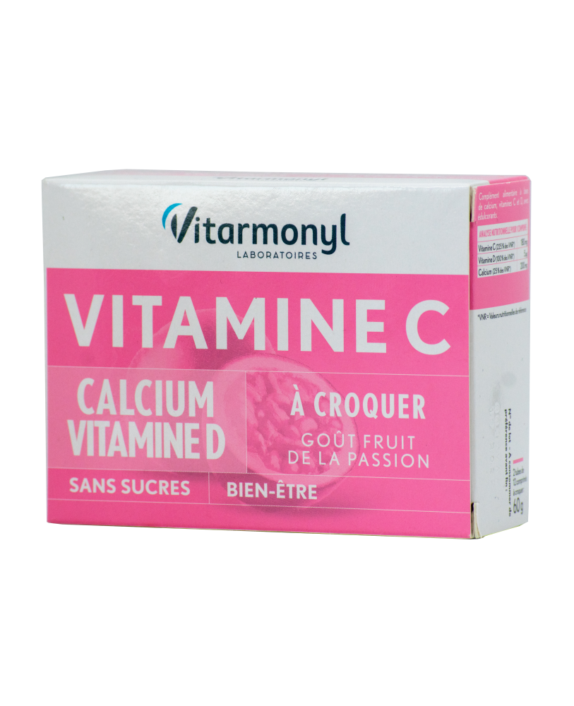 Vitaminas C + kalcis + vitaminas D