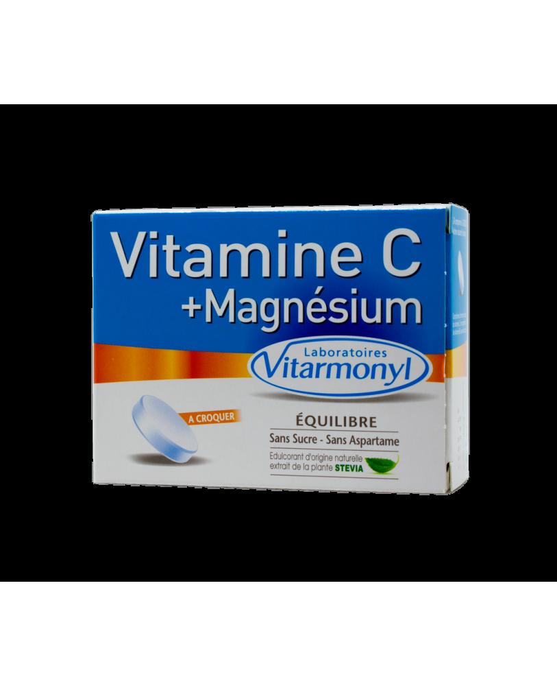 Vitaminas C + magnis + B6