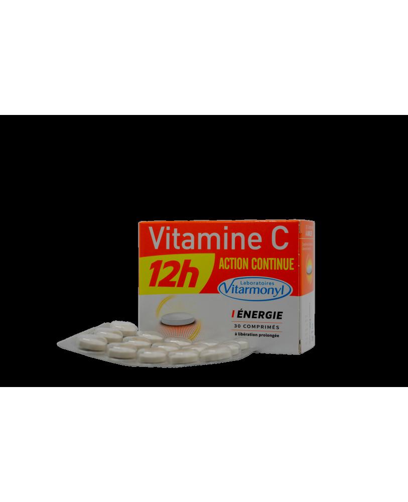 Vitaminas C 12-os valandų nepertraukiamo veikimo